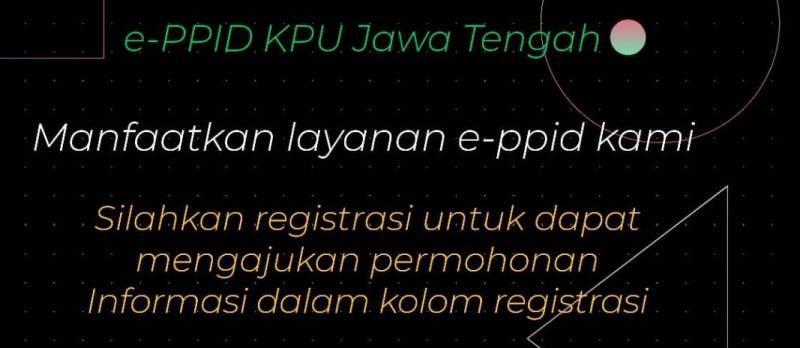Manfaatkan layanan e-ppid